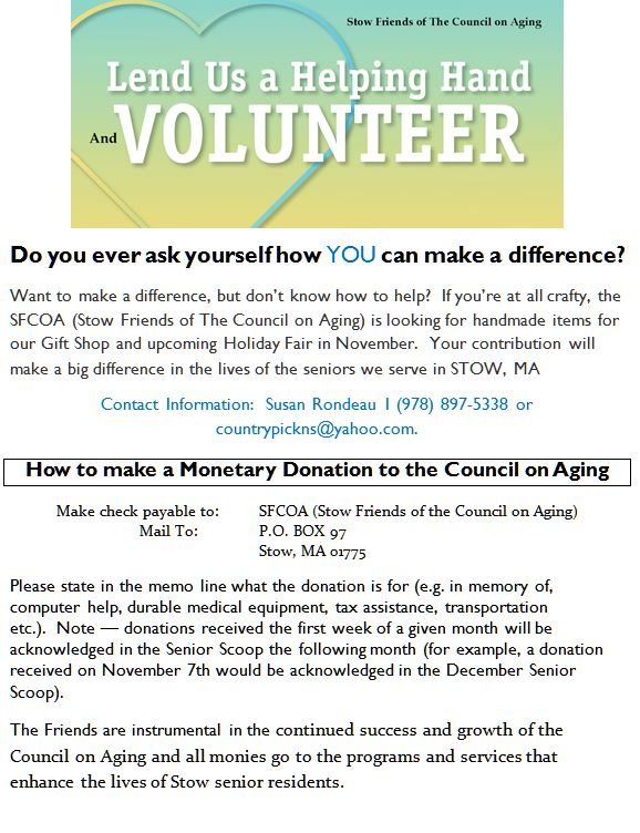 volunteer sfcoa